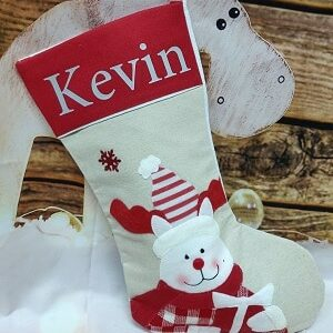 Personalised Stocking with design