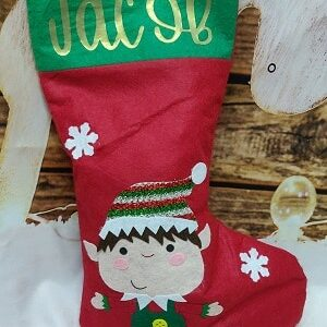 Dangling Feet Personalised Stockings