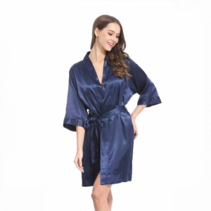 Satin Dressing Gowns – 45 Colours