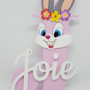 Bunny Wooden Letter – 20cm