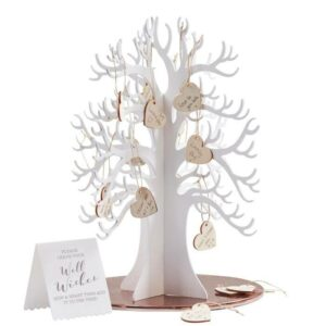 Guest Book – Wooden Wishing Tree Alternative