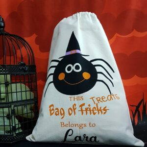 Personalised Halloween Sacks